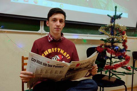 В Институте языка и литературы прошел праздничный вечер «Рождественская мозаика» 1