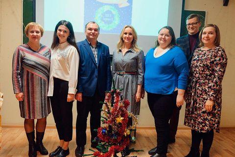 В Институте языка и литературы прошел праздничный вечер «Рождественская мозаика» 3